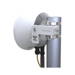 Antena Sectorial / AirMax / 2.4GHz / 15dBi / Apertura 120° / Doble Polaridad Simultánea / Incluye montaje para Poste